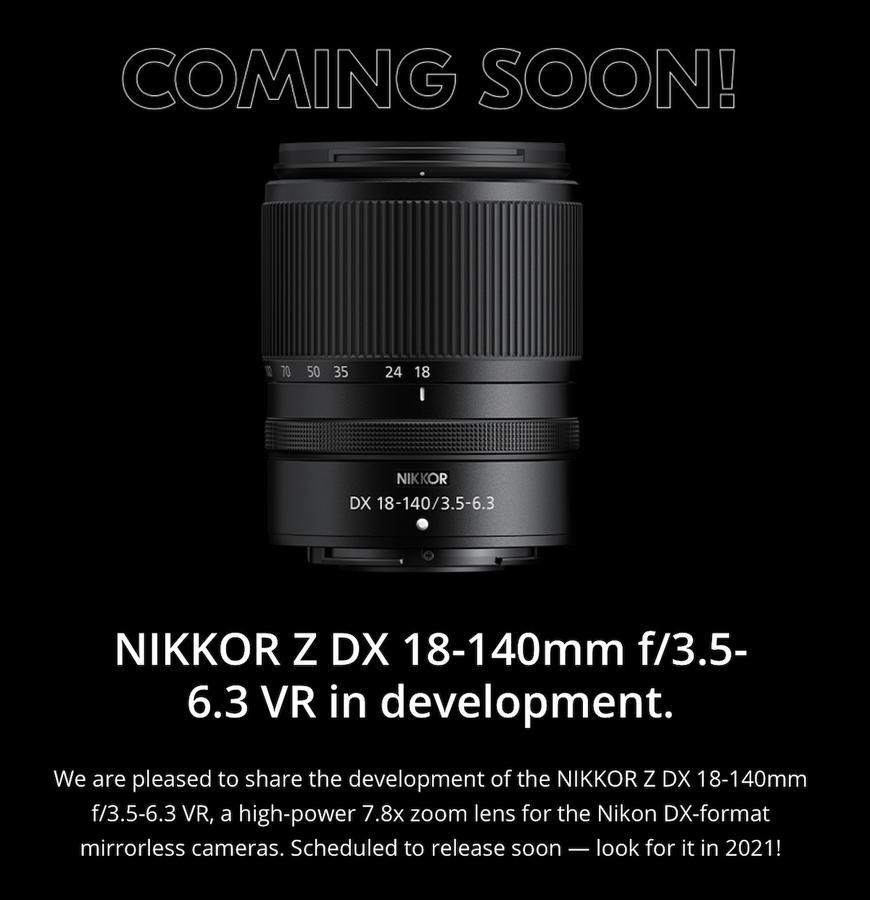 Kliknij obrazek, aby uzyskać większą wersję  Nazwa:Nikon-NIKKOR-Z-DX-18-140mm-f3.5-6.3-VR-lens.jpg Wyświetleń:18 Rozmiar:193,3 KB ID:53264